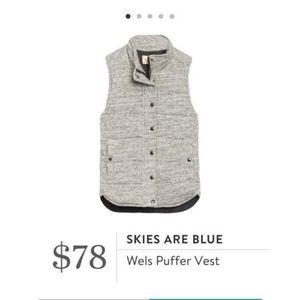 Stitch fix Skies Are Blue Wels Puffer Vest